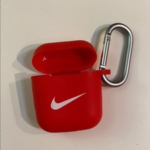 New Red Nike AirPod Case